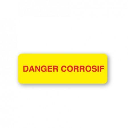 DANGER - CORROSIF